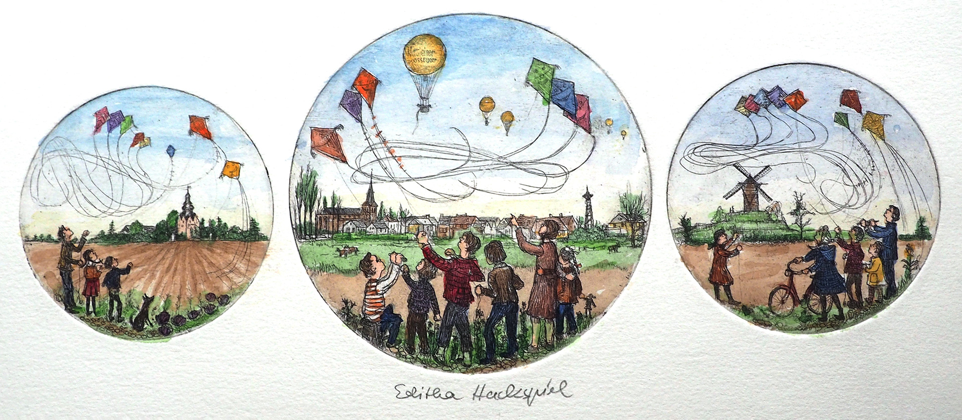 Editha Hackspiel: Düsseldorf