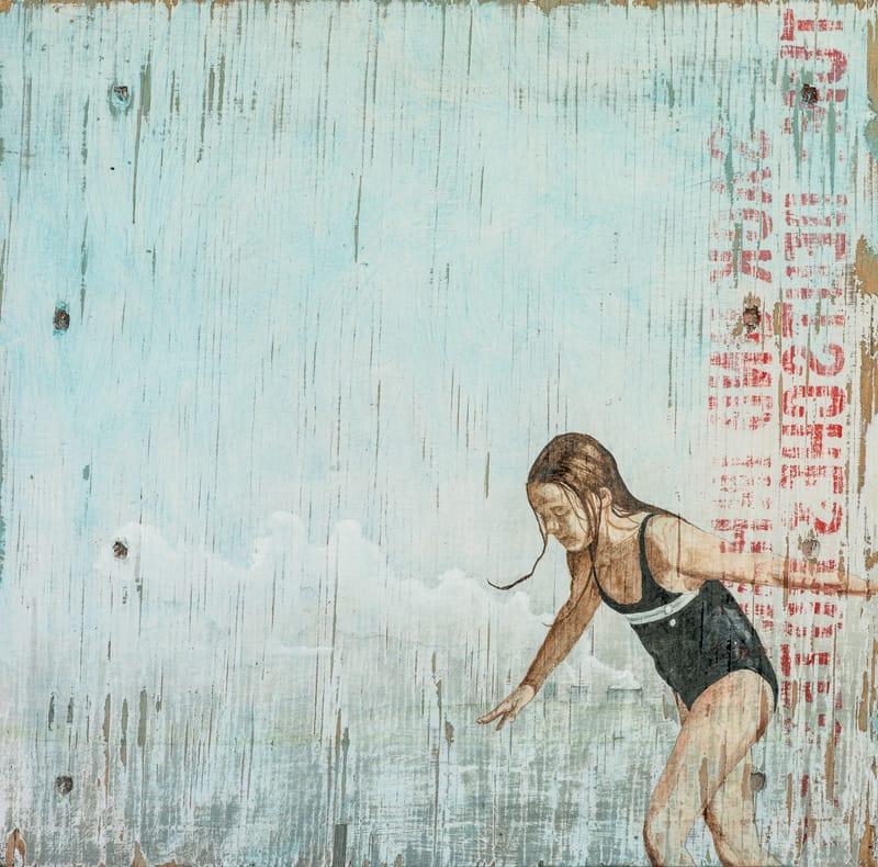 Heike Kleffmann: Mädchen am Wasser