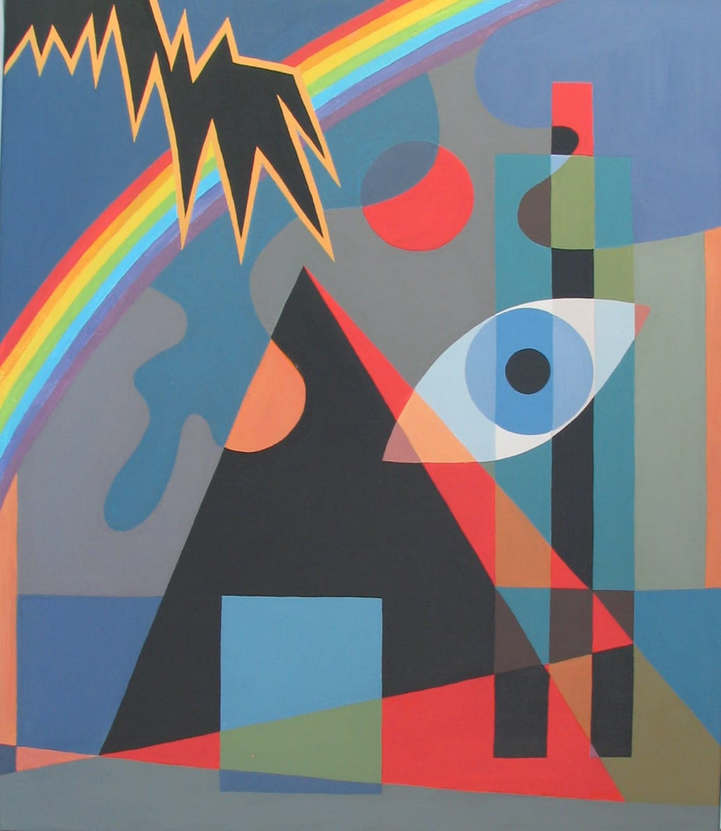 Ilse Petry-Ambrosius: Phänomene (Acryl auf Leinwand, 70x60 cm)