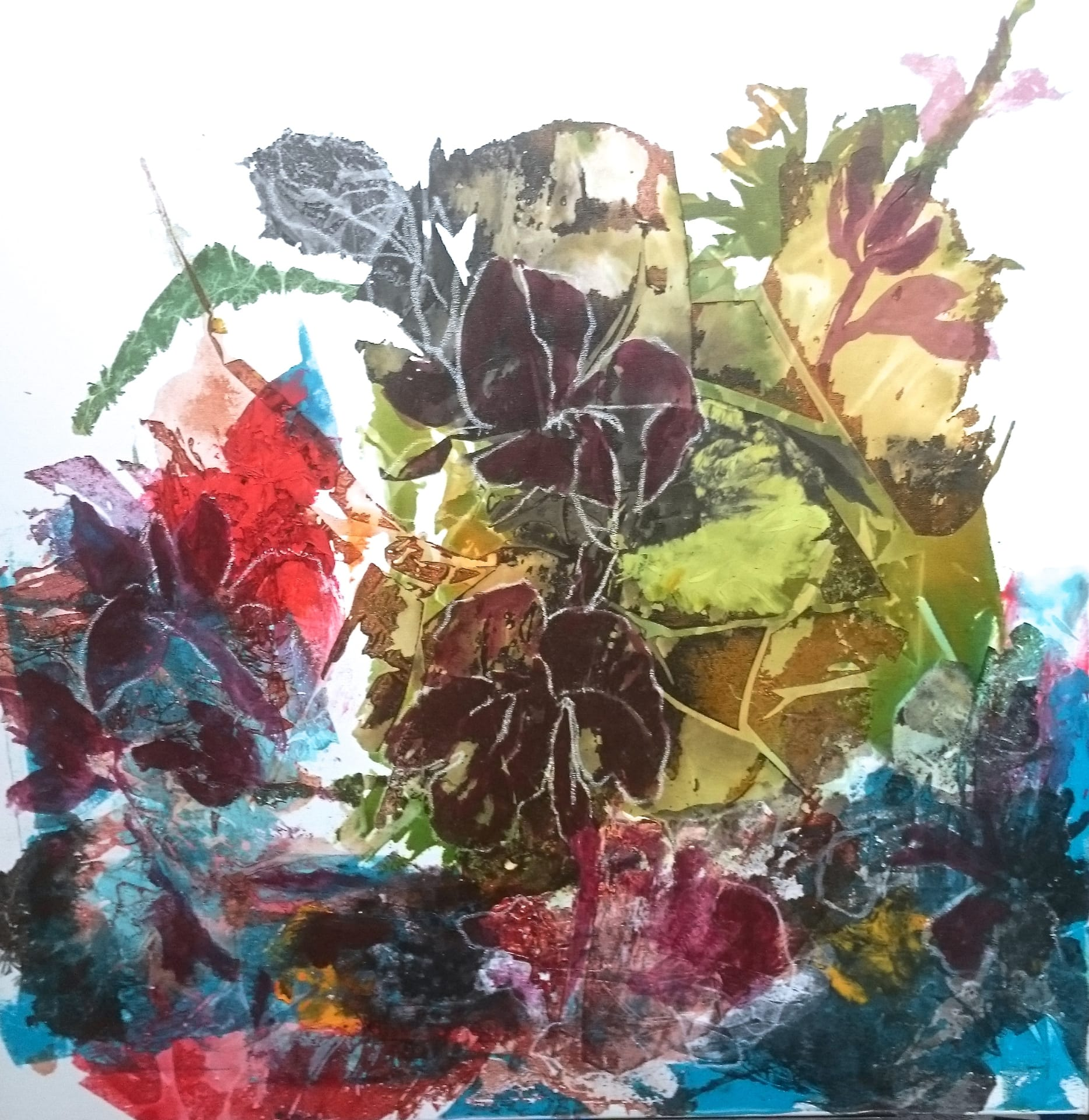 Karin Vollenbruch: Blumenteppich