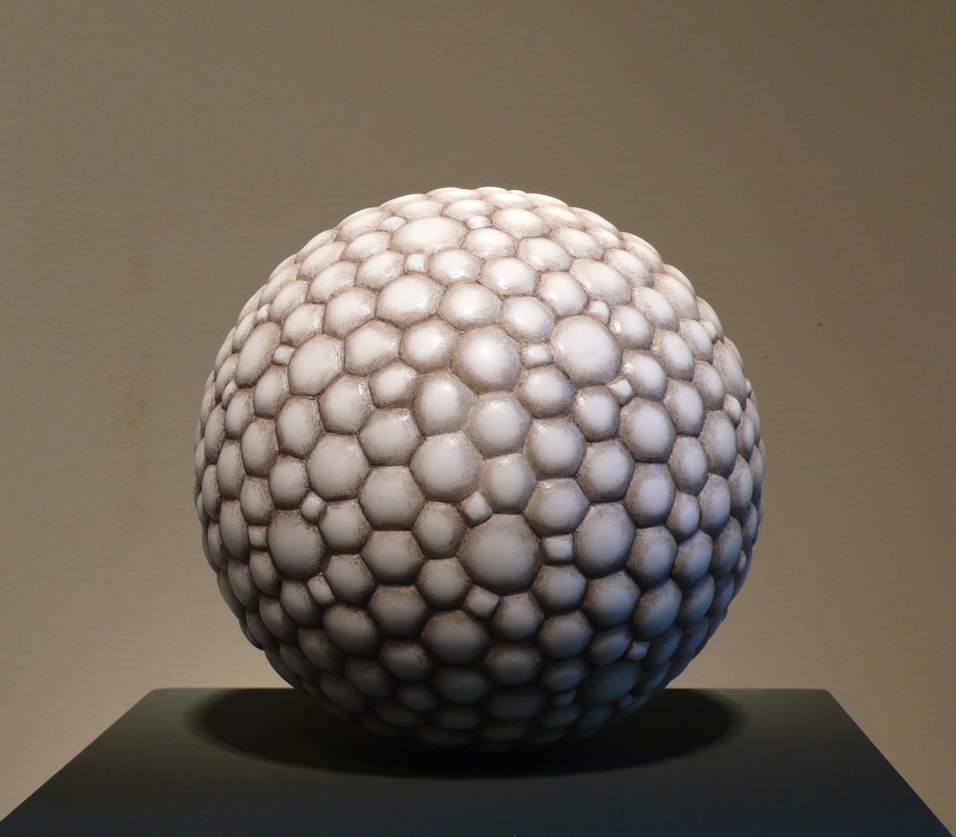 Sven Rünger: Hermesphäre, 2015 (Carrara Marmor)