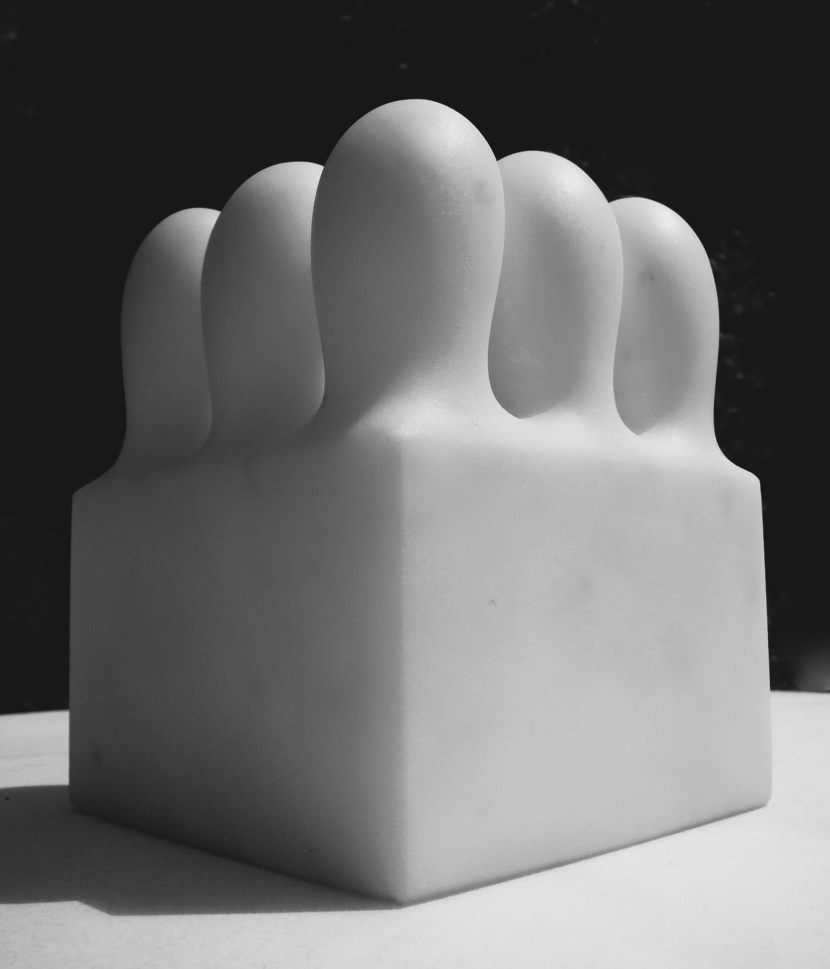 Sven Rünger: Modul, 2008 (Statuario Marmor)
