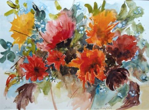 Uta Maaß-Schröder: Blumen