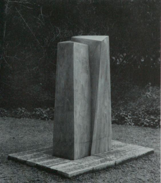 o.T. / Bronze II / 118,5 x 54,7 x 43,1 cm