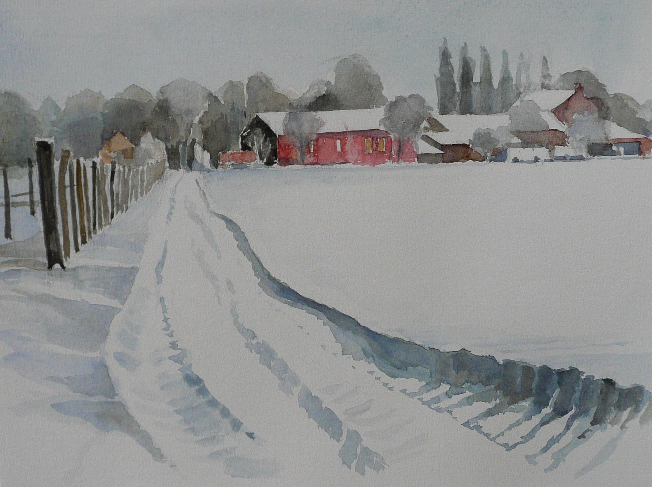 Winter in Osterath