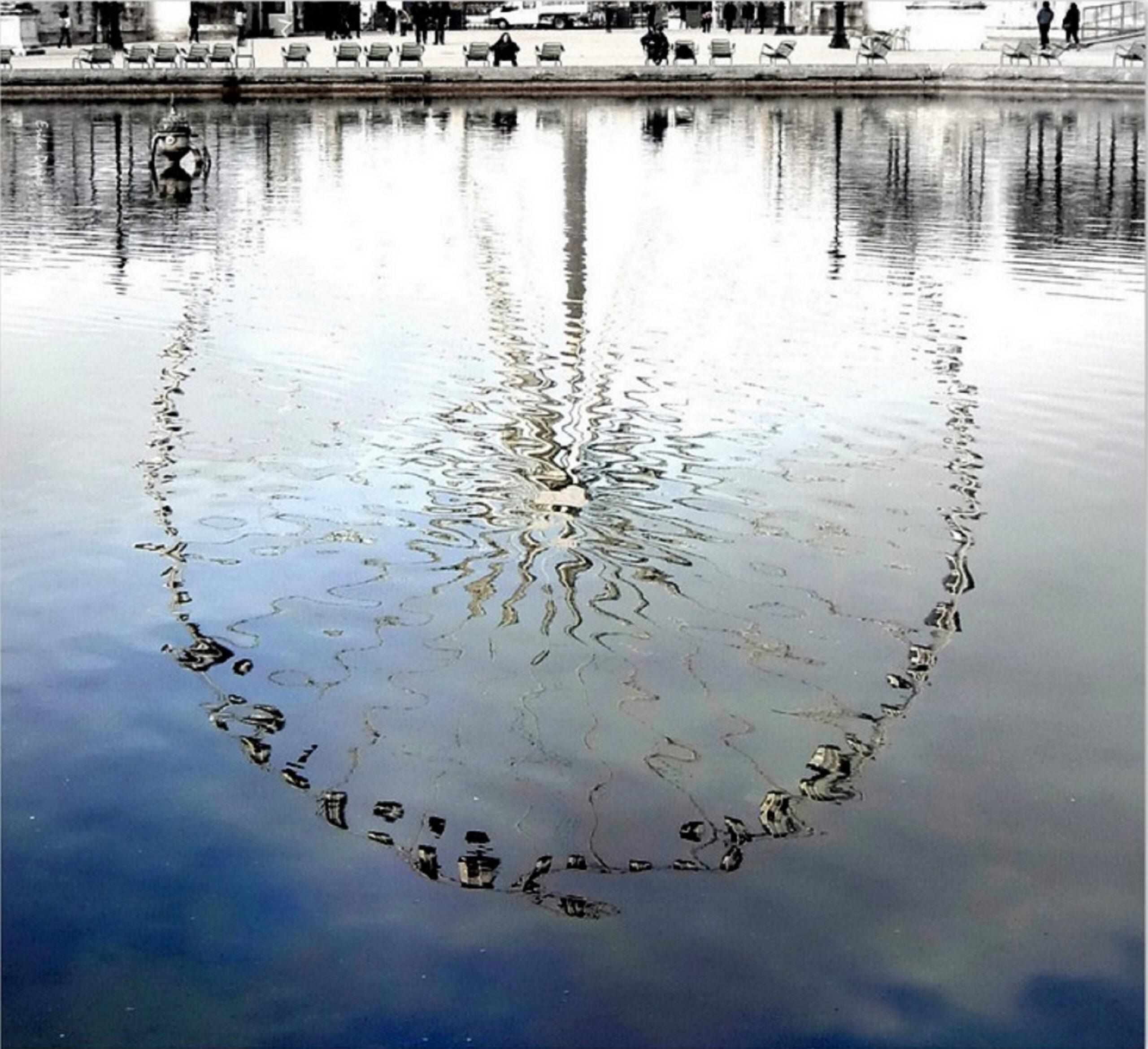 An einem Dezembertag in Paris, in den Tuilerien
